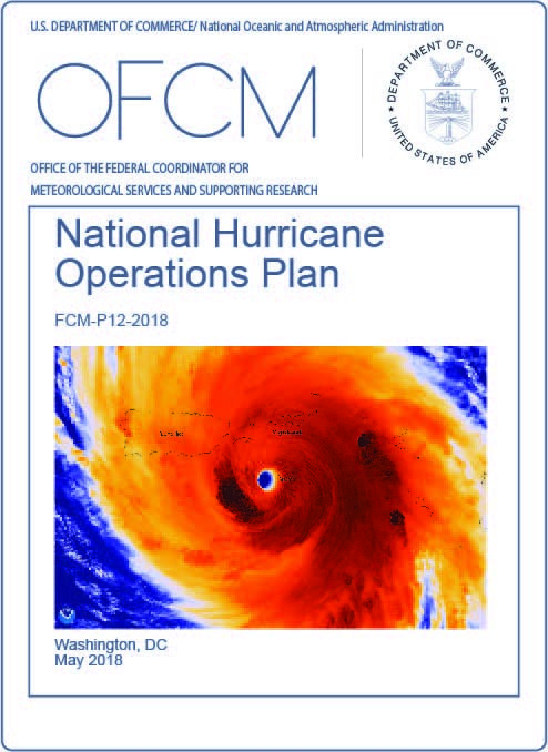 Front cover of the National Hurricane Operations Plan